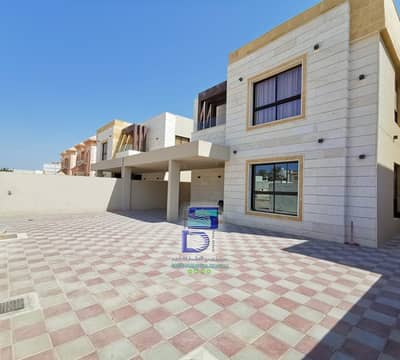 5 Bedroom Villa for Rent in Al Rawda, Ajman - Villa for rent, excellent European finishing, with air conditioners, large area, Sheikh Ammar Street, and all services, negotiable price