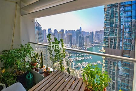 3 Bedroom Flat for Sale in Dubai Marina, Dubai - Beautiful Marina Views | Tenanted | Maids Room