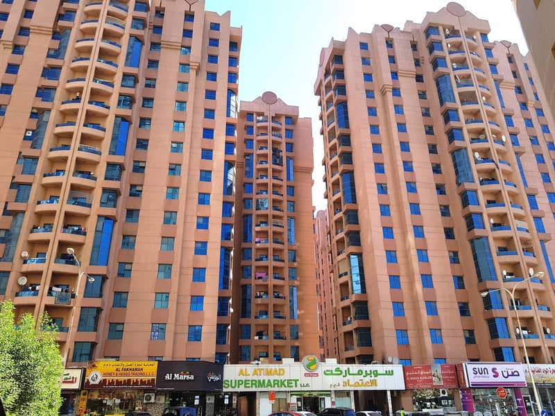 Spacious 3 Bedroom Hall with Maid Room for Rent in Nuaimiya Towers