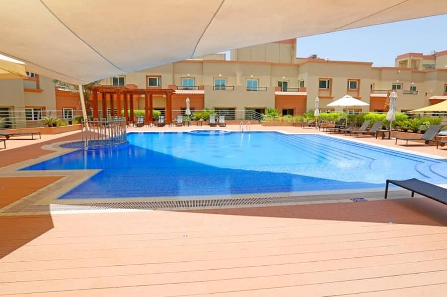 Duplex 2Bedrooms   Unfurnished   Balcony   Pool View