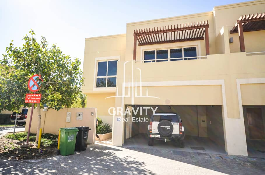 SUPER HOT DEAL | Vacant 4BR Townhouse in Al Raha Gardens