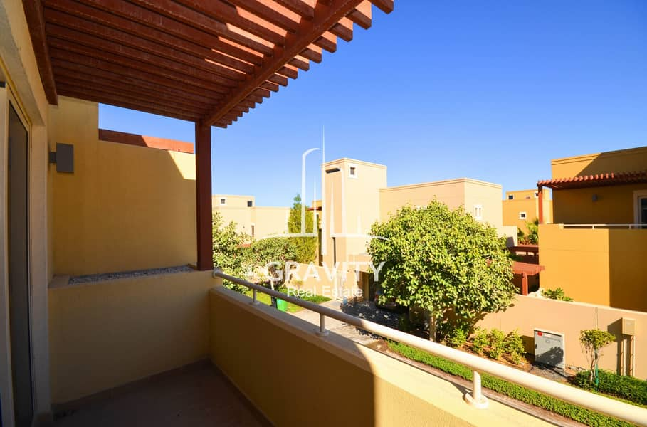 15 SUPER HOT DEAL | Vacant 4BR Townhouse in Al Raha Gardens