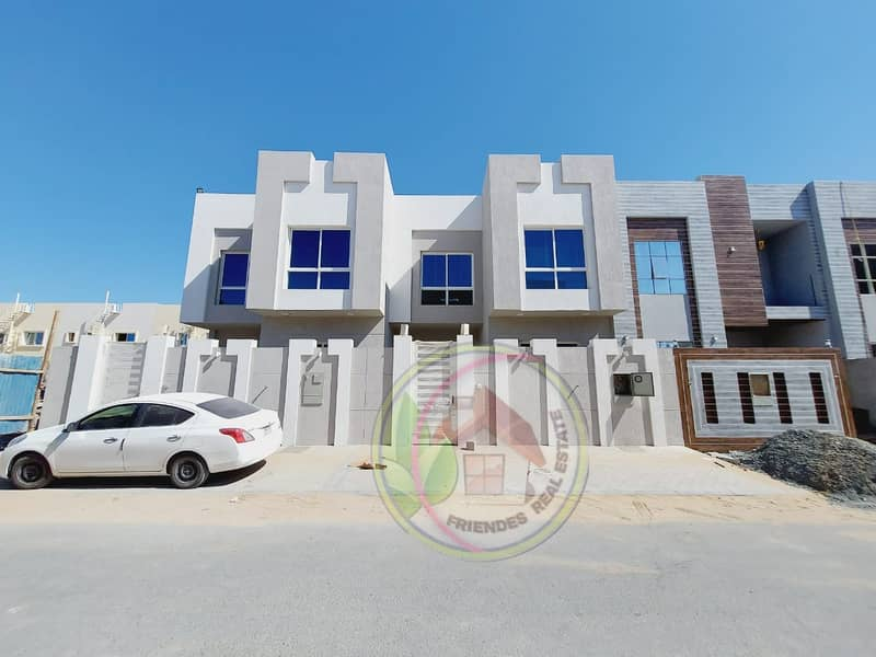 Without downpayment to the bank, the price is inclusive, registration is a villa designed by Jumeirah Dubai, in an artist's location near Emirates Road