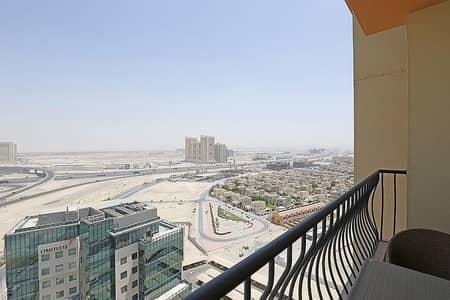 2Bedroom+Balcony | Al Khail Rd View | Middle Floor