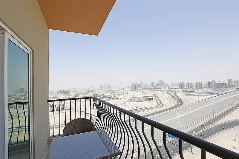 2 2Bedroom+Balcony | Al Khail Rd View | Middle Floor