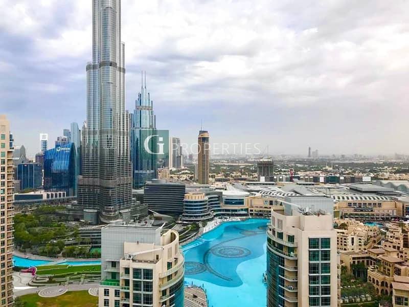 12 CHEQUES | FULL BURJ View | Vacant