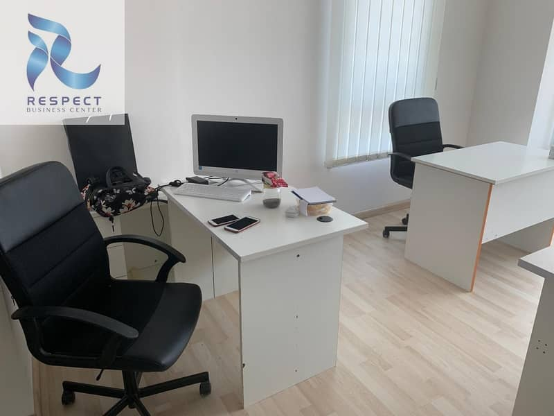 2 DEDICATED DESKS | Package Deal! Only 6500