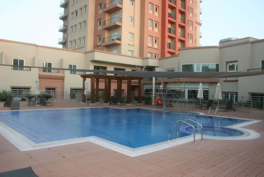 12 Fully Furnished |1Bedroom + Balcony | Middle Floor