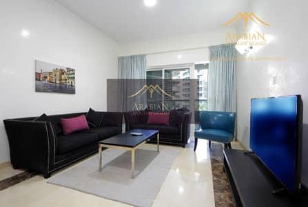 3 Bedroom Apartment for Rent in Dubai Marina, Dubai - Close to metro | Furnished apartment in Zen Tower