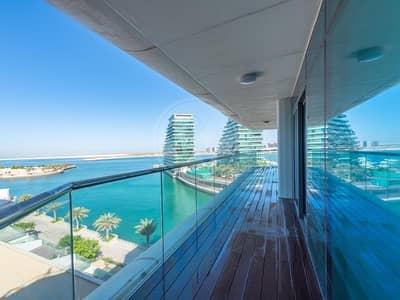 شقة 3 غرف نوم للايجار في شاطئ الراحة، أبوظبي - Amazing apartment with full sea views | Must view!