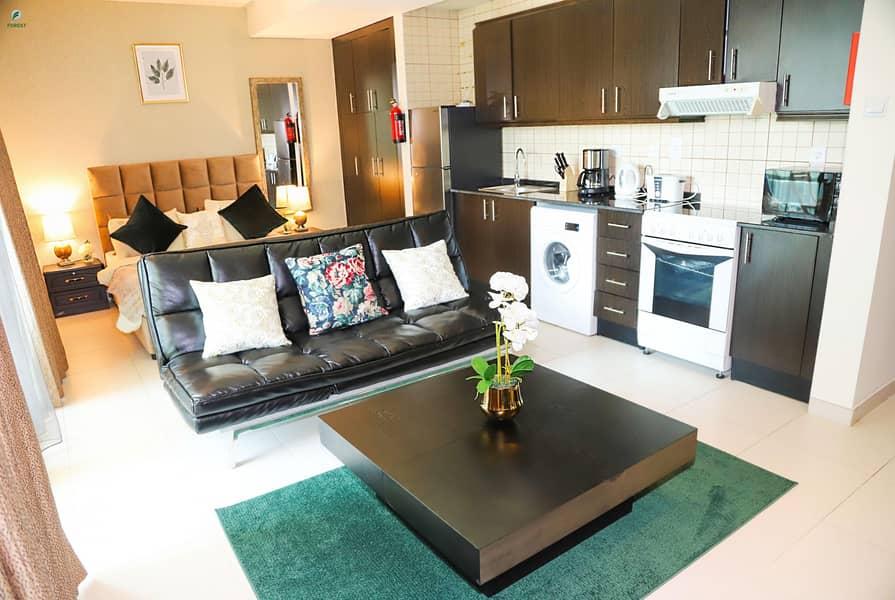 Elegant Studio with Marina View Fully Furnished