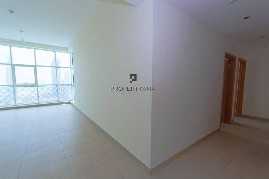 2 Bedroom + Study | Mid Floor |Partial Canal View