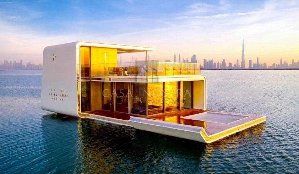 The Floating Seahorse 4BR Villa Waterfront living