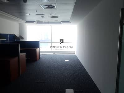 Office for Rent in Business Bay, Dubai - Corner Unit  Fitted Office  Good deal  Canal view