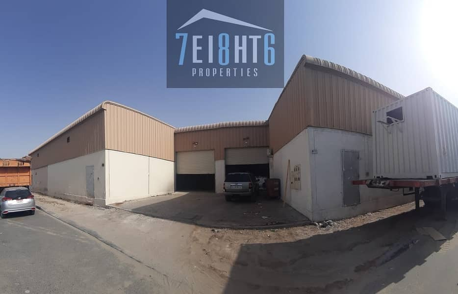 2600 sq ft whouse for storage use for rent in RAK