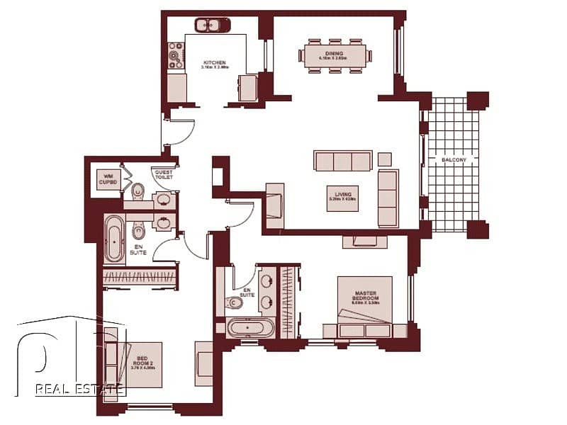 10 Upgraded 2 Bed   Unfurnished   Immaculate