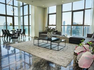 بنتهاوس 3 غرف نوم للبيع في دبي مارينا، دبي - بنتهاوس في رقم (٩) دبي مارينا 3 غرف 6300000 درهم - 4829795