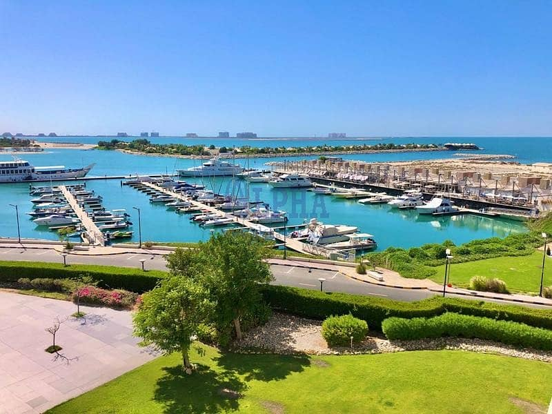 Fantastic Community & Part Sea View | 3 BR+Maid's