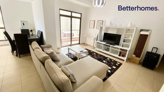 3 Bedroom Apartment for Rent in Jumeirah Beach Residence (JBR), Dubai - Unfurnished | Upgraded | Partial sea view