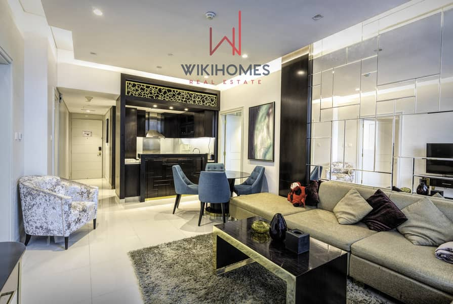 2 Luxurious Apartment | 2 minutes to Dubai Mall | Calm Building | Spacious
