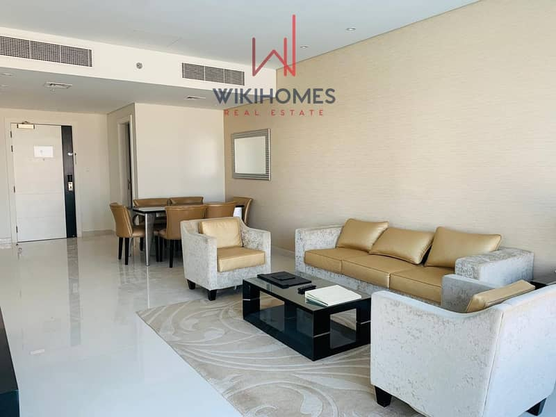 2 Minutes to Dubai Mall | Spacious Apartment |  Maid Room Available