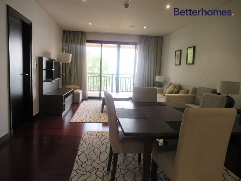 2 Sea &  Burj Al Arab View | 1 Bed | Exclusive