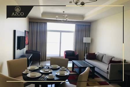 FULLY FURNISHED 1 BR | HIGH END FINISHING| SEMI OPEN KITCHEN @42K