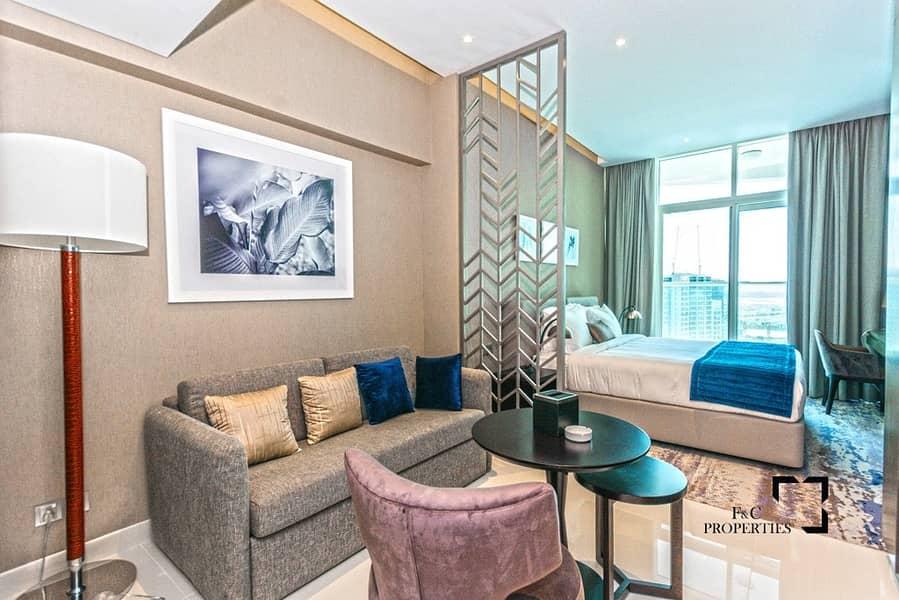 2 High Floor | w/ Balcony | Luxury Living