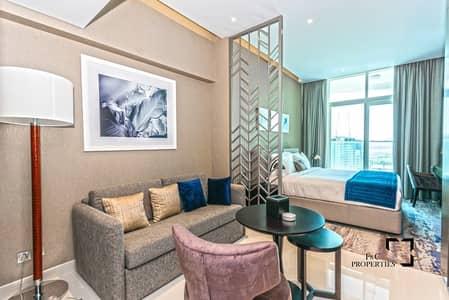 استوديو  للايجار في الخليج التجاري، دبي - Spacious Studio | Canal View | High Floor