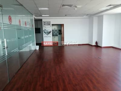 Office for Rent in International City, Dubai - Fitted with Glass Partition Office in Indigo Optima