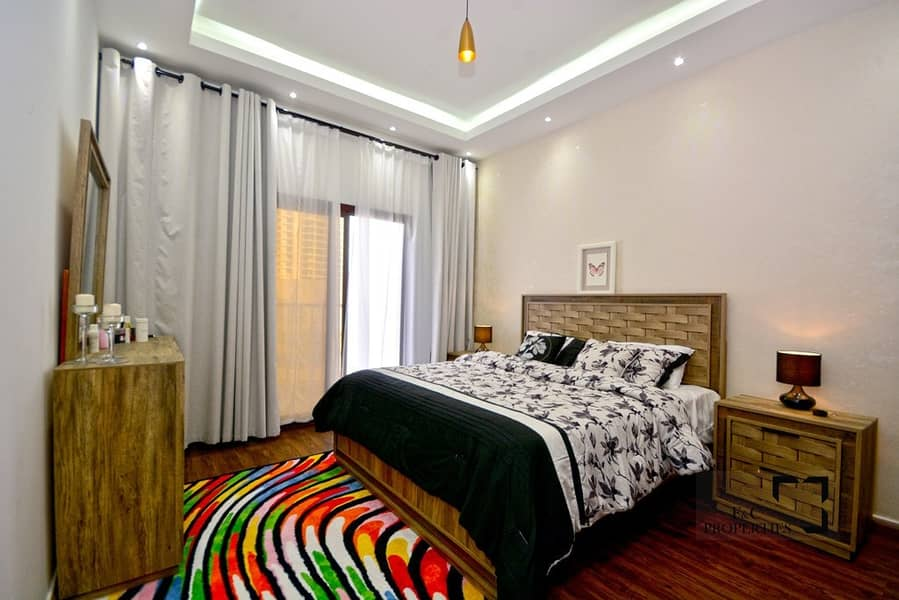Fully Furnished - 1 Bed - In Lolena - JVC