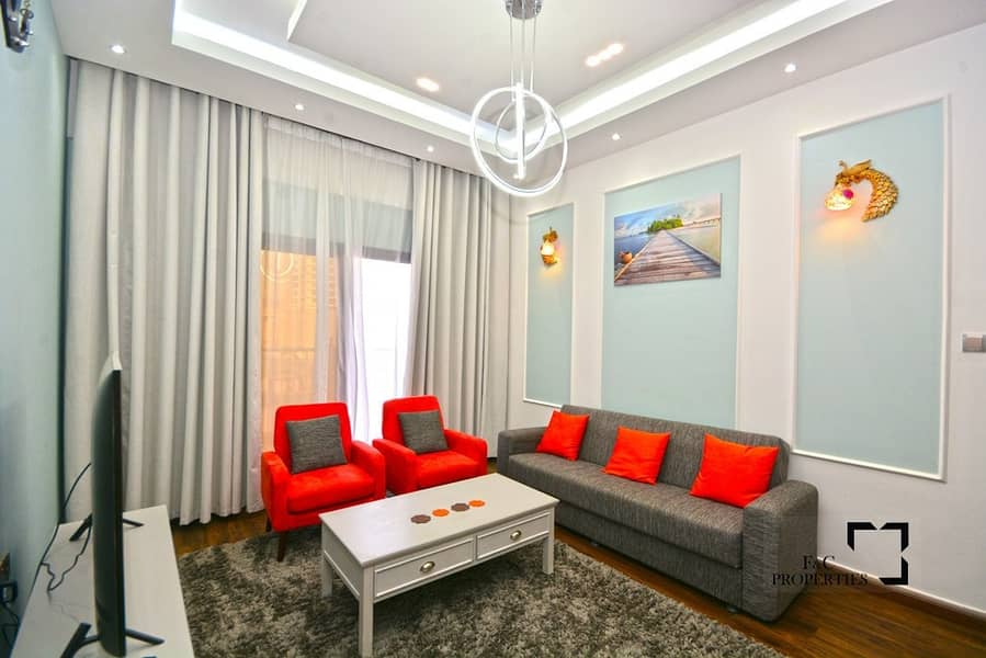 2 Fully Furnished - 1 Bed - In Lolena - JVC
