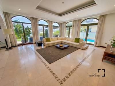فیلا 4 غرف نوم للايجار في نخلة جميرا، دبي - Furnished 4 Bed Villa I Atrium Entry I Vacant