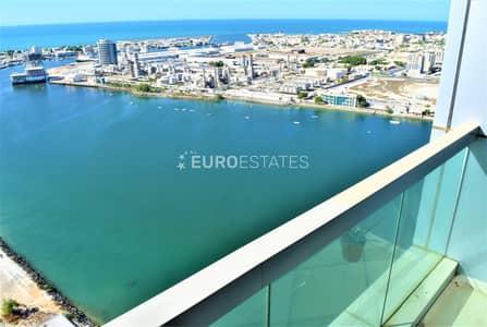 2 Bedroom Flat for Rent in Dafan Al Nakheel, Ras Al Khaimah - Urbane 2 BR Apt.   Full Sea View