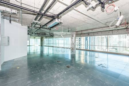 Office for Rent in Business Bay, Dubai - Half Floor   Semi Fitted Office   Spacious