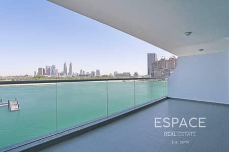 فلیٹ 1 غرفة نوم للايجار في نخلة جميرا، دبي - Beach Access and Chiller | Sea View | 1 Bedroom