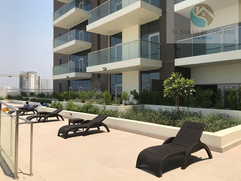 2 Spacious Brand New Studio for rent in Samia Azizi Al furjan