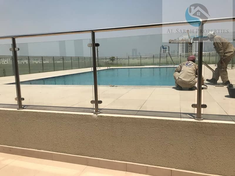8 Spacious Brand New Studio for rent in Samia Azizi Al furjan
