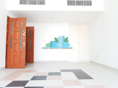 3 Bedroom Apartment for Rent in Hamdan Street, Abu Dhabi - Charming 3BHK | 4 payments | Built-in cabinet