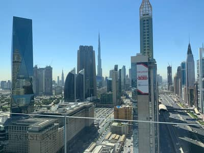 1 Bedroom Flat for Rent in Sheikh Zayed Road, Dubai - Cozy 1BR apartment with stunning Burj Khalifa View | High Floor