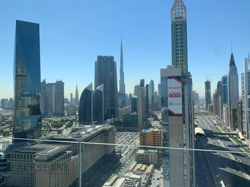 Cozy 1BR apartment with stunning Burj Khalifa View | High Floor
