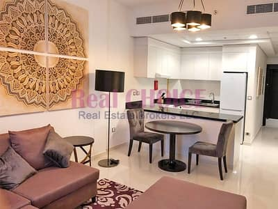 1 Bedroom Apartment for Rent in Jumeirah Village Circle (JVC), Dubai - High Floor   Fully Furnished   Multiple Cheques