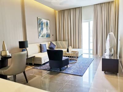 1 Bedroom Flat for Rent in Business Bay, Dubai - Fully Furnished - Biggest Apartment | 1 Bedroom with Pool View