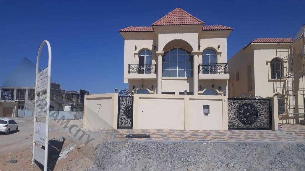 Own a lifetime villa for you and your children, without down payment, with the best banking facilities, super deluxe finishing