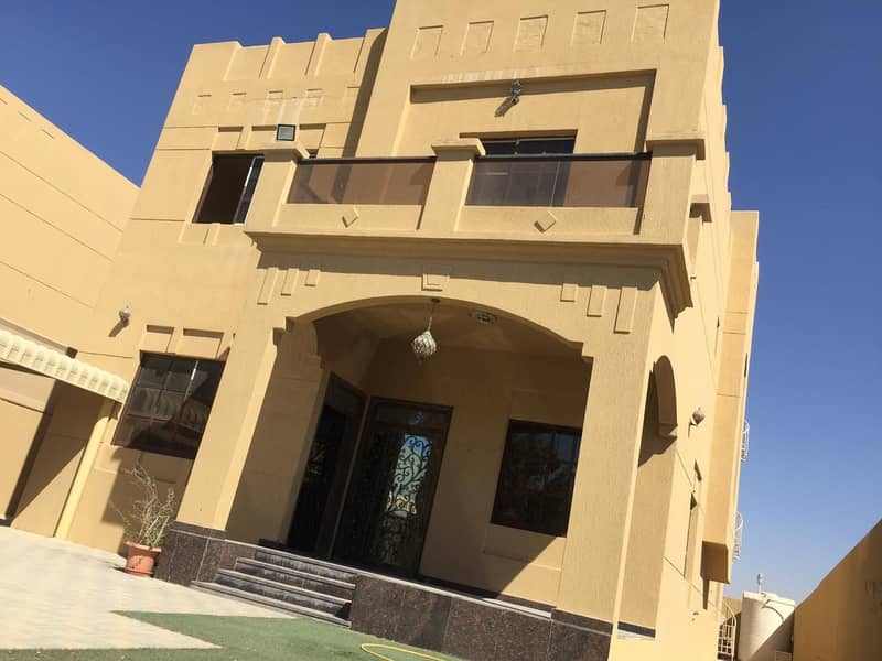 NEWLY MAINTAIN VILLA AVAILABLE FOR RENT IN MOWAIHAT ( 75000/-AED YEARLY )