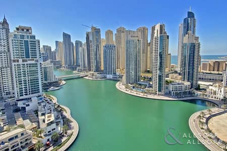 3 Bedroom Apartment for Sale in Dubai Marina, Dubai - High Floor | Full Views | 3 Beds + Maids
