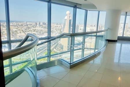 فلیٹ 4 غرف نوم للايجار في مركز دبي التجاري العالمي، دبي - FREE DEWA | Jumeirah Living next to Trade Center