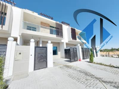 For sale a very distinctive villa in Ajman Al zahia area, a very unique design and elegant finishing, on main road and all services are available