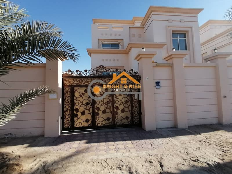 Separate 5 Master BR villa with Yard - MBZ city