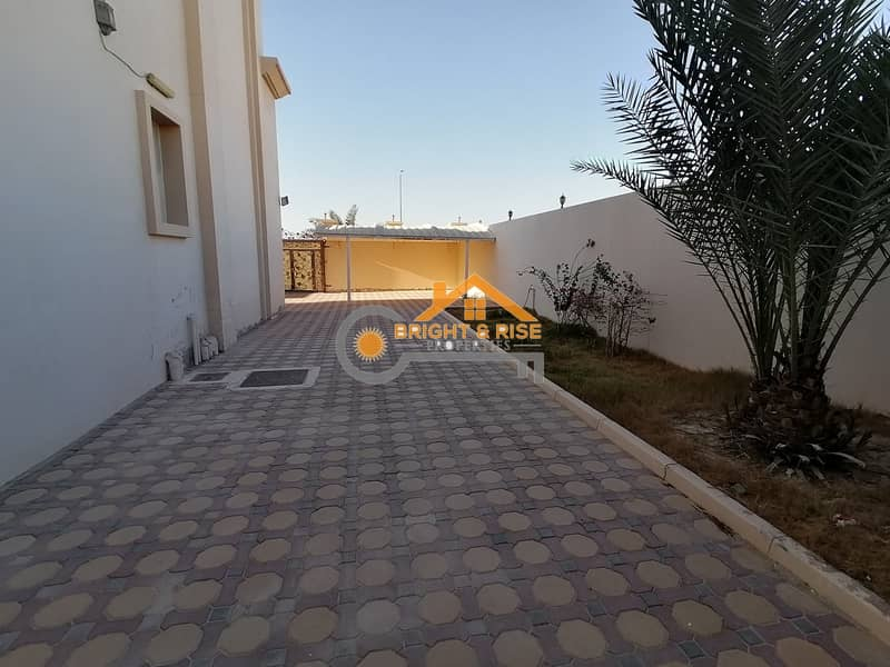 15 Separate 5 Master BR villa with Yard - MBZ city